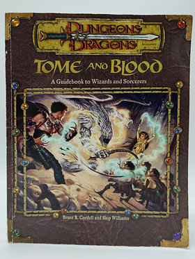 Dungeons & Dragons - Tome and Blood