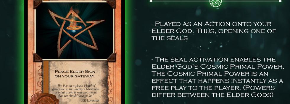 Elder Sign Card