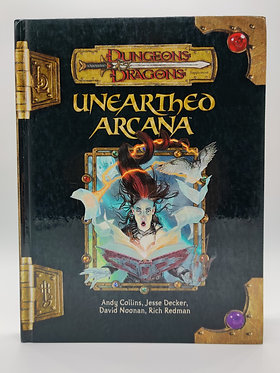 Dungeons & Dragons - Unearthed Arcana