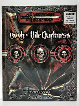 Dungeons & Dragons - Book of Vile Darkness