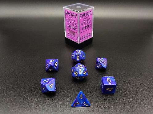 Chessex CHX 27497 Lustrous Purple/gold 7pc Dice Set