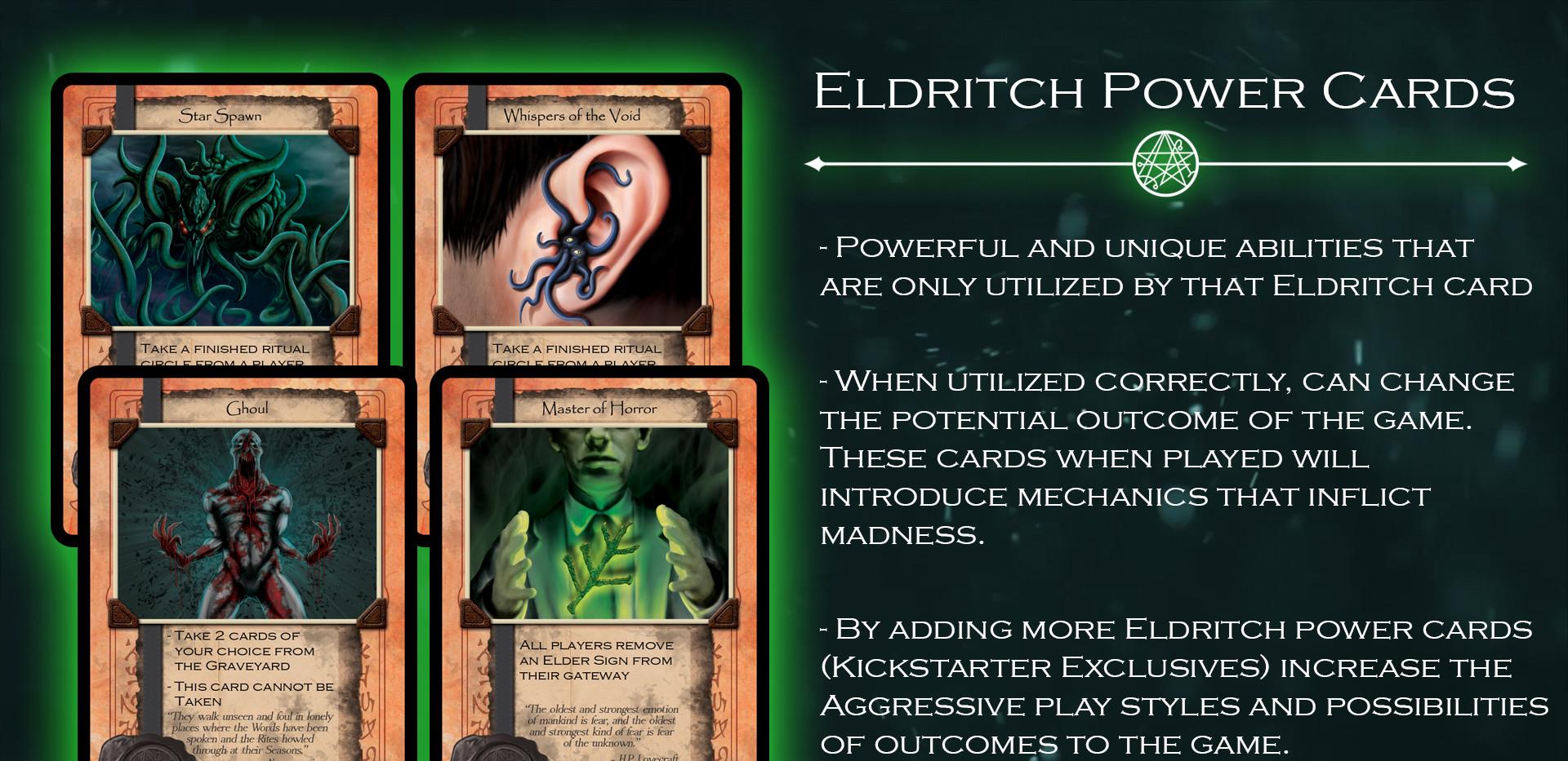 Eldritch Power Cards