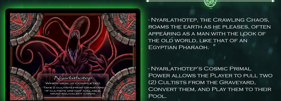 Nyarlathotep Elder God Card