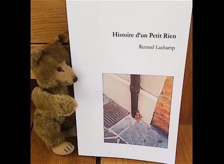 Lisez Histoire d'un petit Rien!vous en serez heureux...