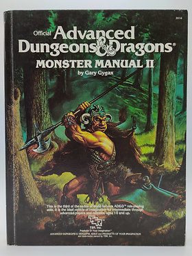 Advanced Dungeons & Dragons - Monster Manual II