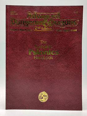 Advanced Dungeons & Dragons -The Complete Psionics Handbook