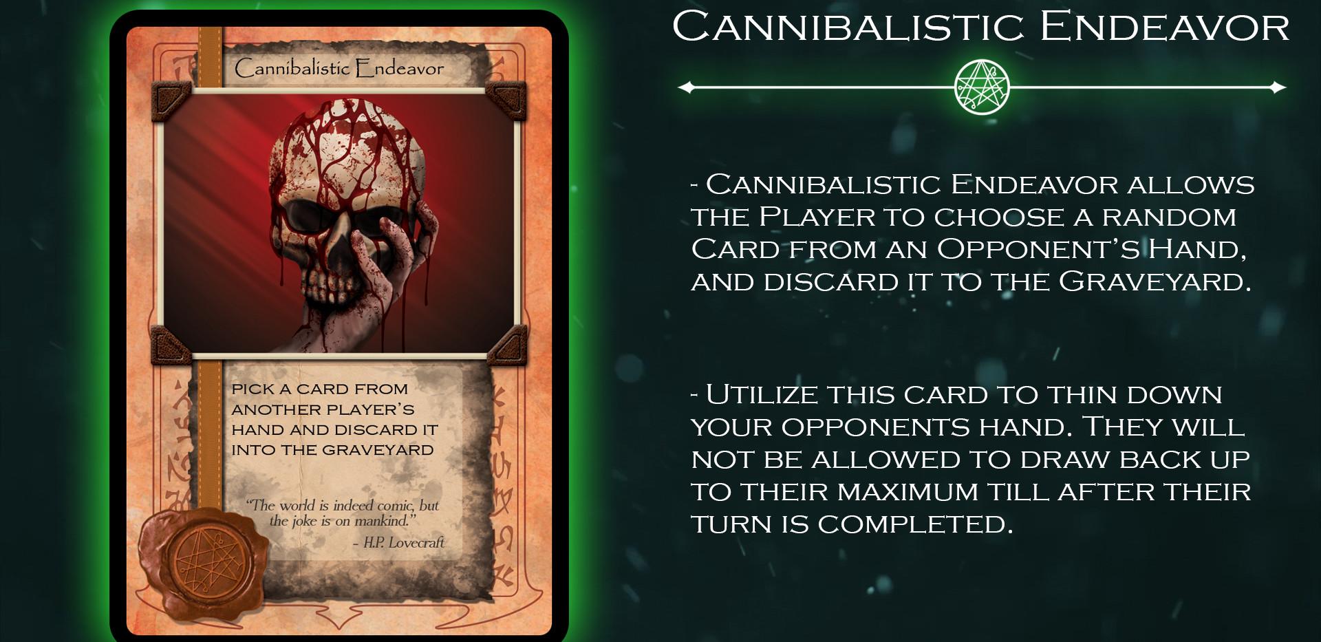 Cannibalistic Endeavor Card