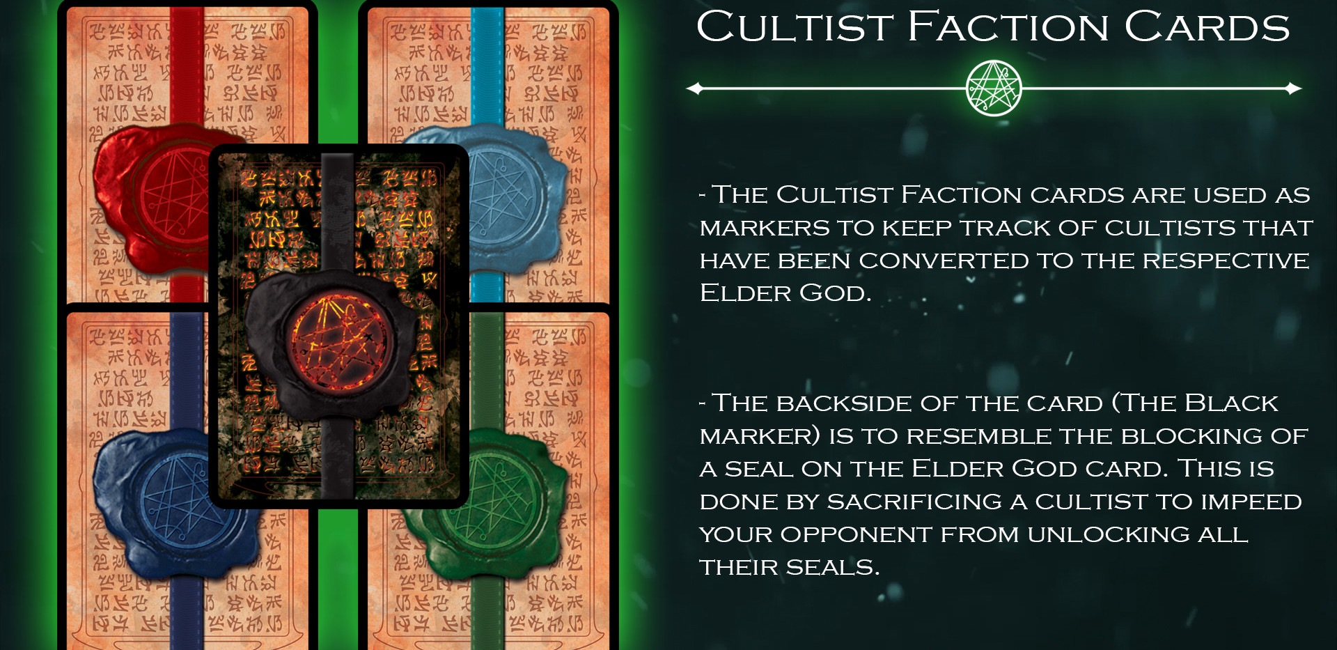 Cultist Faction Cards