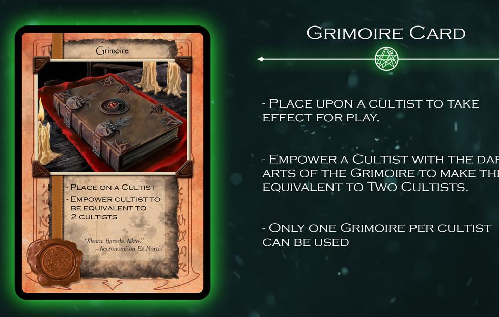 Grimoire Card