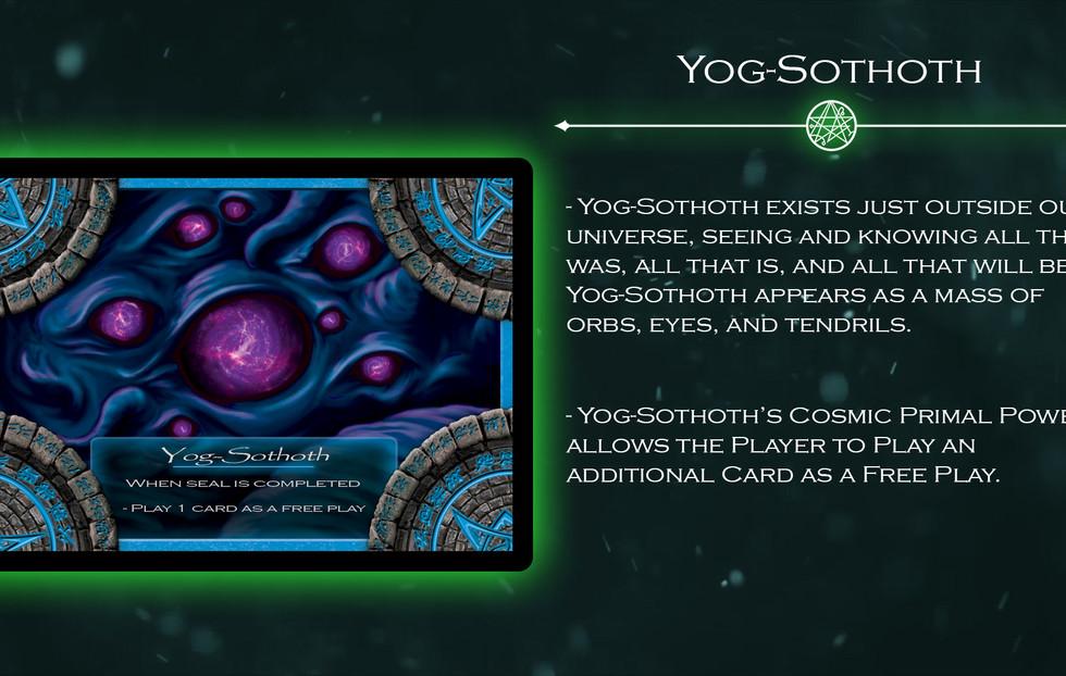 Yog-Sothoth Elder God Card