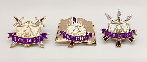 High Roller 3 Pin Pack