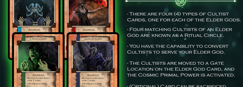 Cultist Cards