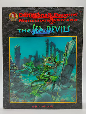 Advanced Dungeons & Dragons - The Sea Devils