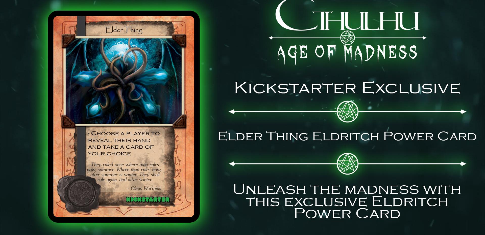 CAOM - Elder Thing Exclusive Card