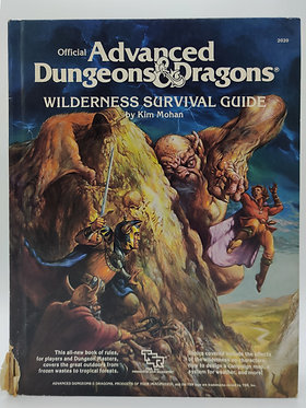 Advanced Dungeons & Dragons - Wilderness Survival Guide