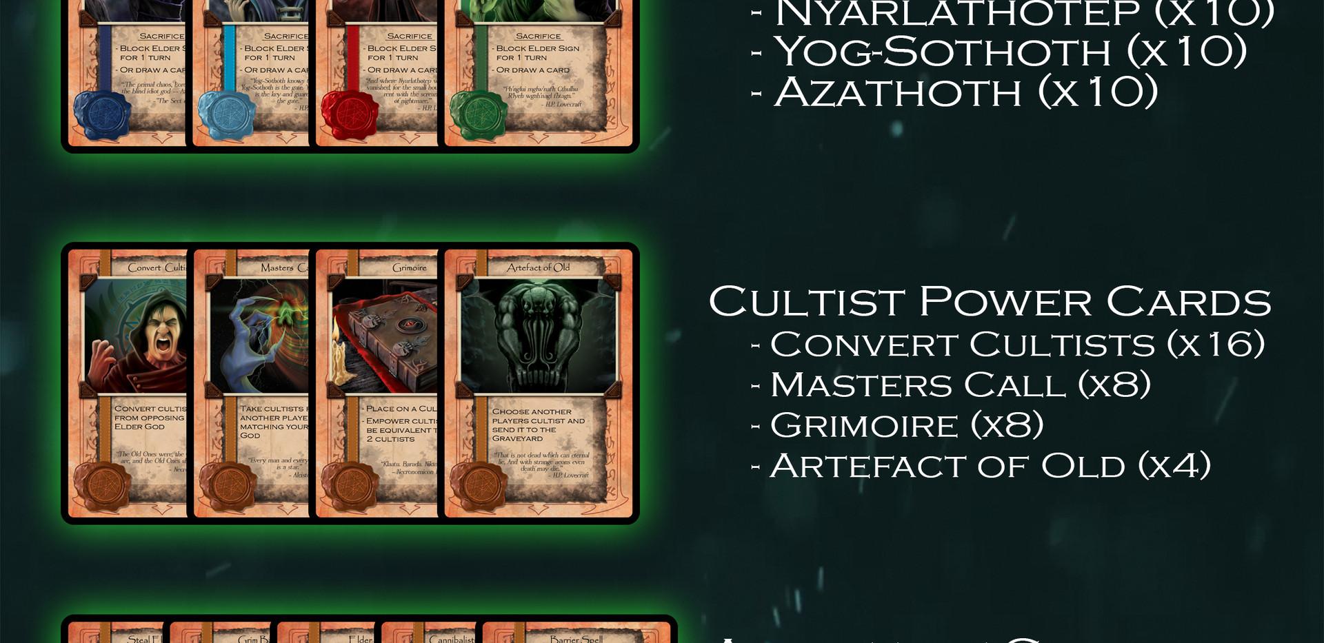 CAOM - Game Contents