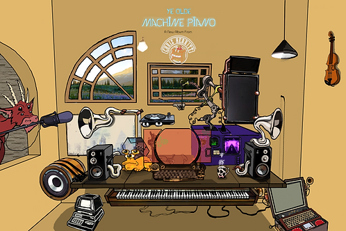 Ye Olde Machine Piano: A New Album From Chris Merritt (2018) (MP3s,HD wavs)