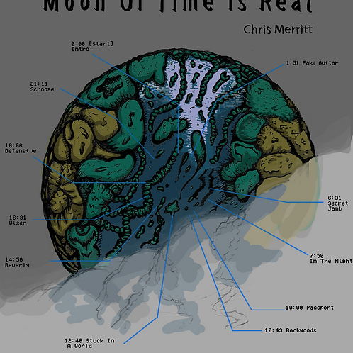 Moon Of Time Is Real by Chris Merritt - Full Release