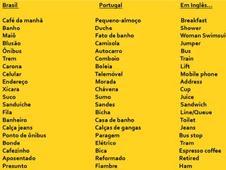 Português Europeu x Português Brasileiro