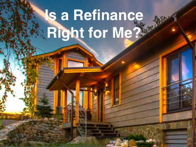 To Refinance or Not to Refinance, That is the Question...