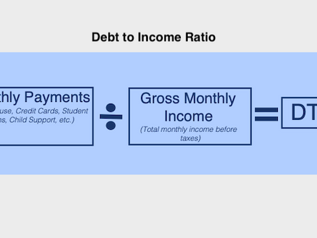 What is DTI or Debt-to-Income Ratio?