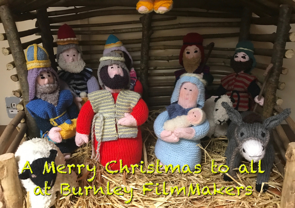 Happy Christmas 2019 from all at Burnley Film Makers