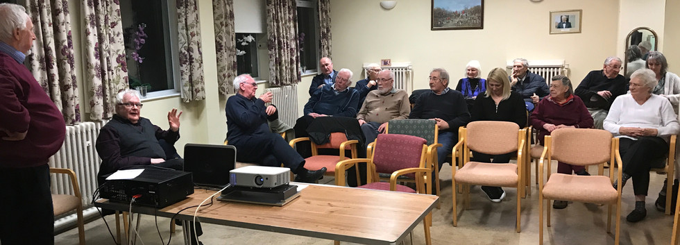 Burnley Film Makers travelled to Ribble Valley on the 16th January 2020