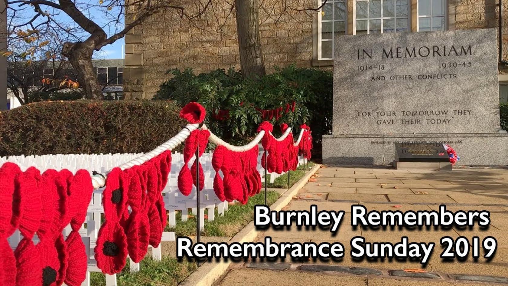 Burnley Remembers 2019