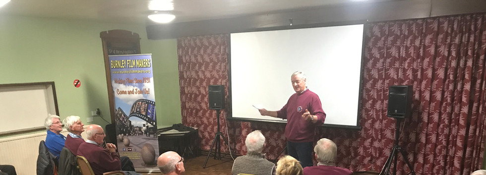 Mike Breeze at Morecambe Bay Movie Maker