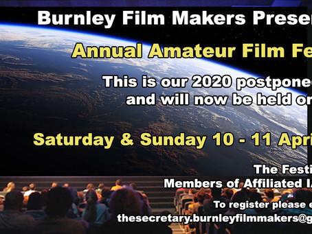 Burnley Film Festival 2020-21