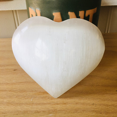 Selenite Hearts