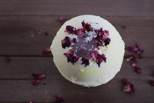 Turmeric Rose Cannabinoid Crystal Bomb