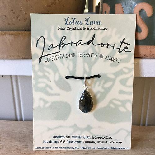 Labradorite Necklace  N1