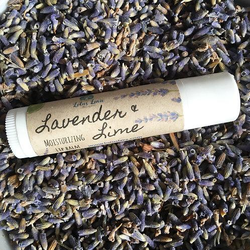 Lavender & Lime Moisturizing Lip Balm