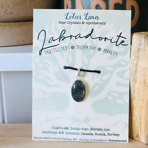 Labradorite Necklace  N4