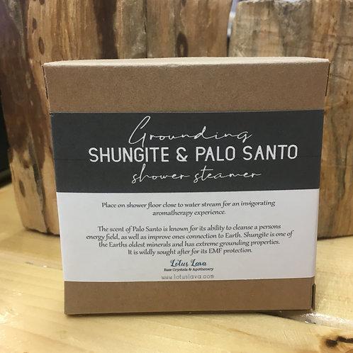 Shungite & Palo Santo Grounding Shower Steamer