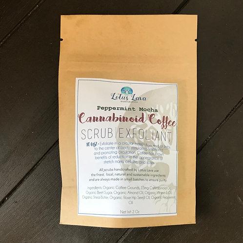 Peppermint Mocha Cannabinoid Coffee Scrub