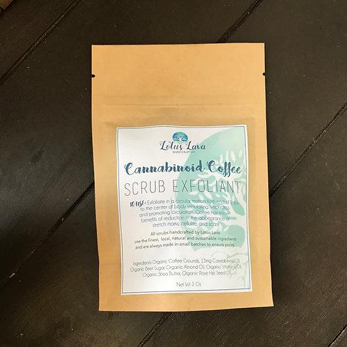 Cannabinoid Coffee Scrub
