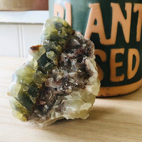 Green Calcite GC8