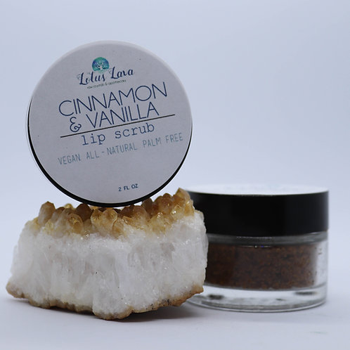 Cinnamon Vanilla Lip Scrub