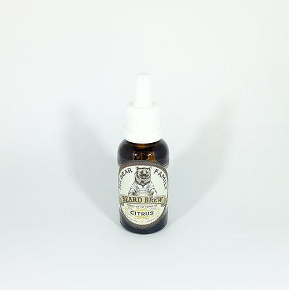 Mr. Bear Family Beard Brew Citrus (Oil) 30 ml.