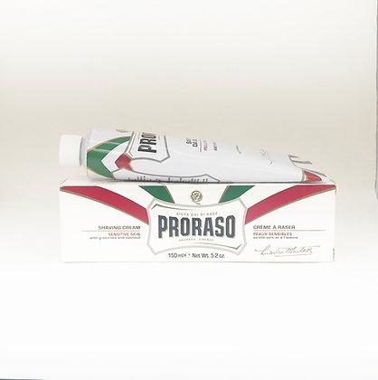 Proraso Shaving Cream Tube - Sensitive Skin 150 ml.