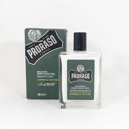 Proraso Aftershave Balm - Cypress & Vetyver 100 ml.