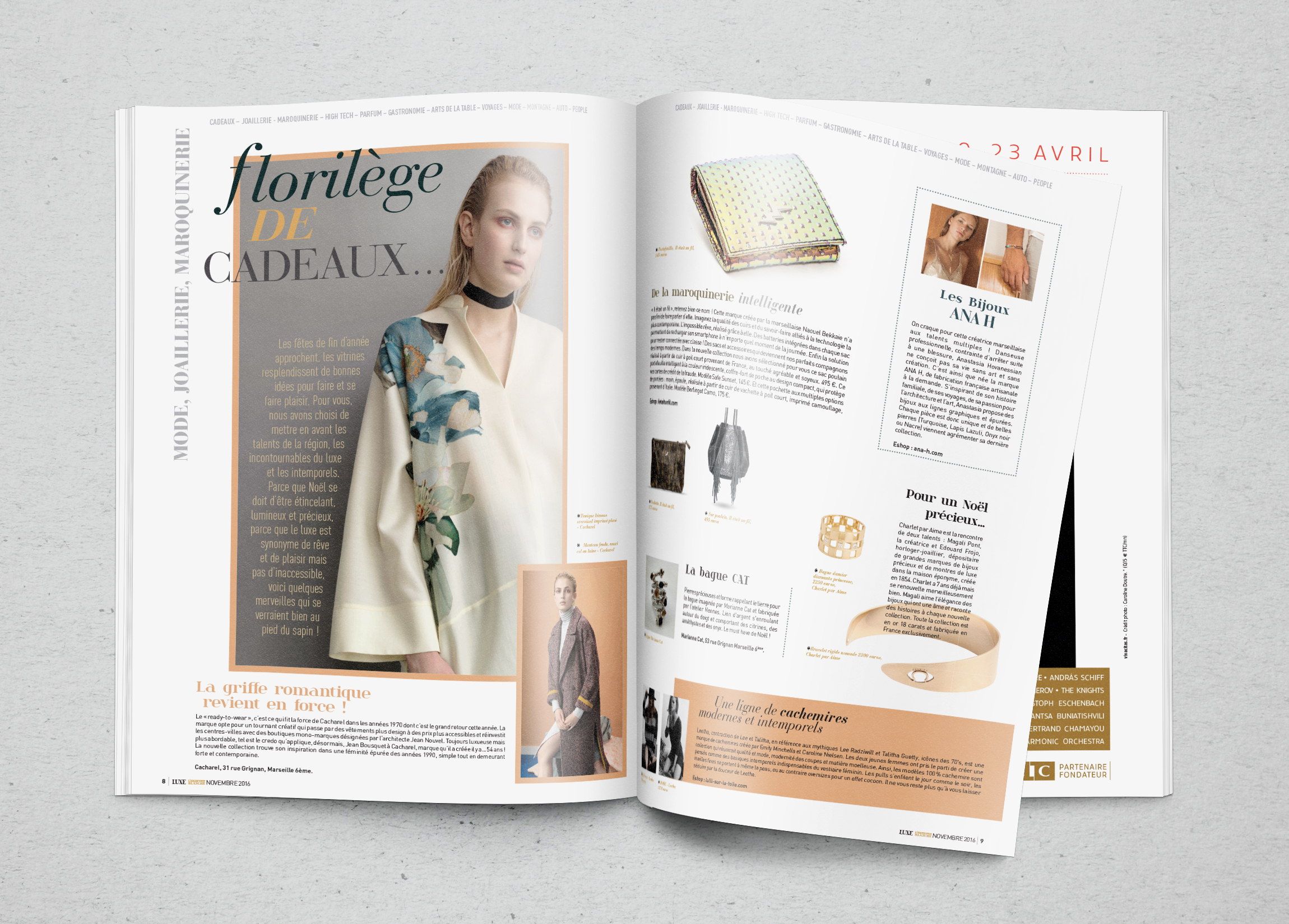 Mise en page - Luxe en Provence n°5