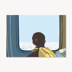 1 - Par la fenêtre