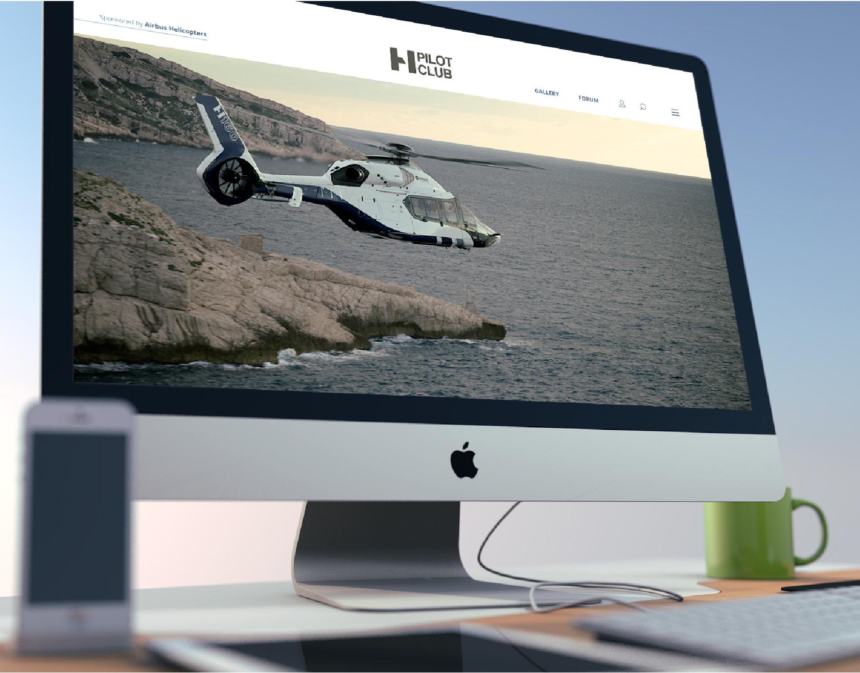 Webdesign - H Pilot Club