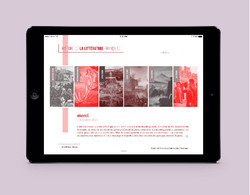 Webdesign - La Littérature