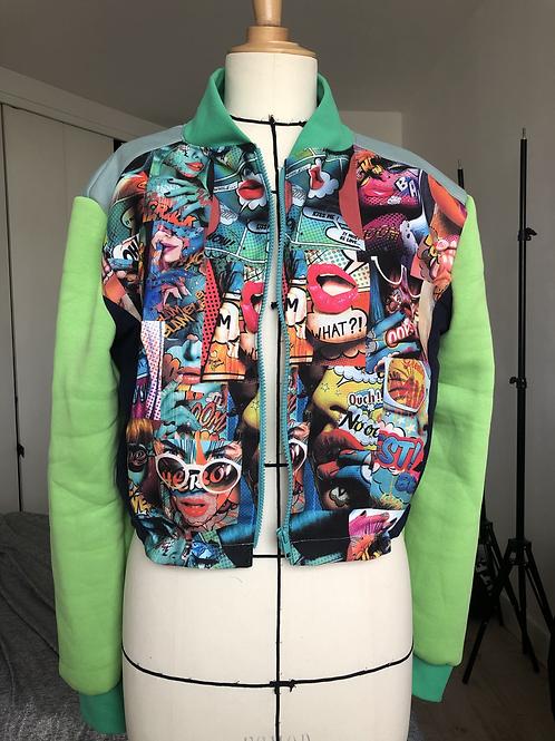 Blouson pop art motif 7