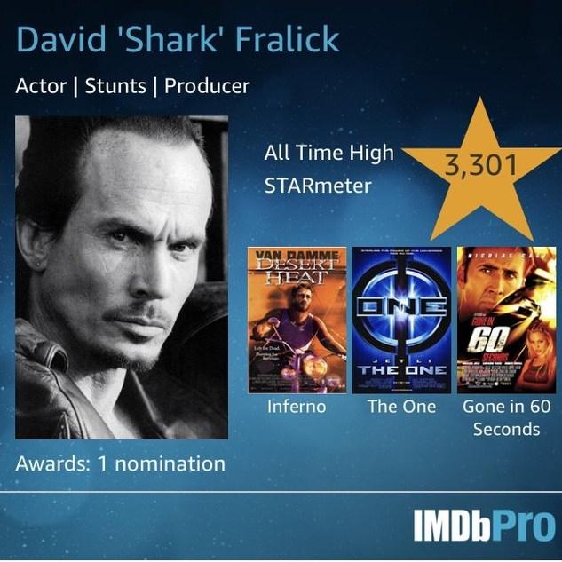David 'Shark' Fralick