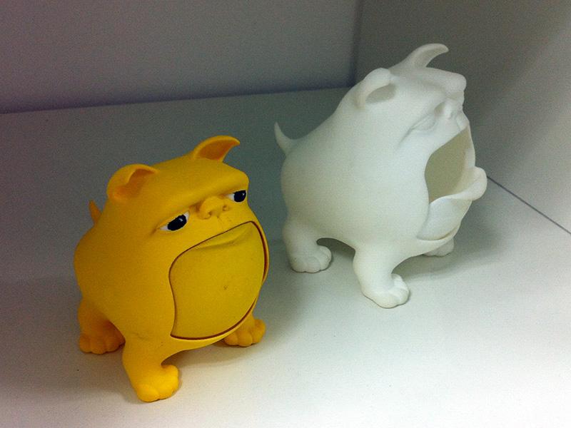 2 buldogs - 3D print